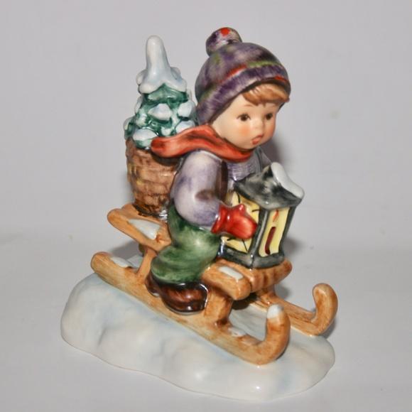 Goebel Hummel Ride Into Christmas Figurine